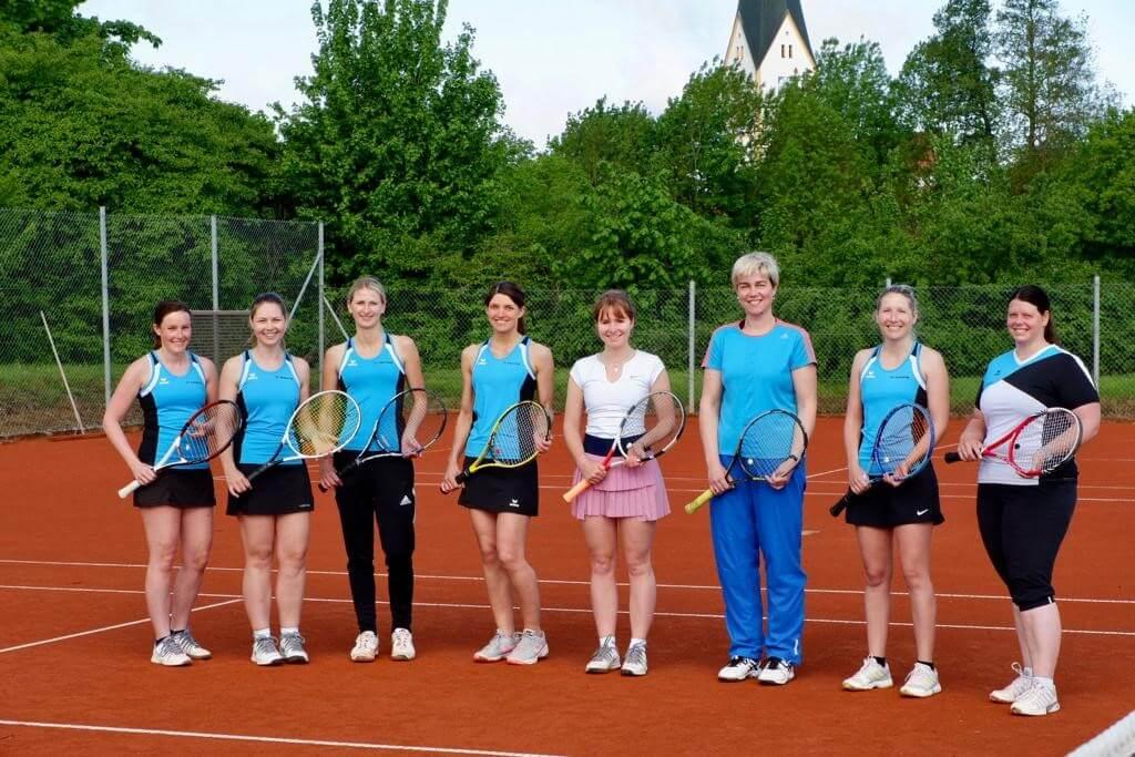 Tennis Damen Mannschaft Sünching