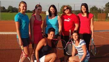Tennis in Sünching Damen Mannschaft