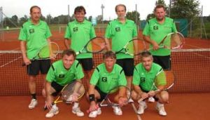 Tennis in Sünching Herren 60 Mannschaft