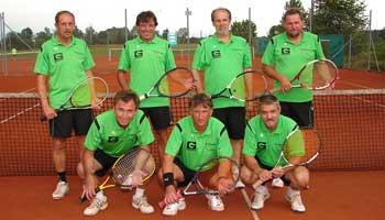 Tennis in Sünching Herren 60 Mannschaft